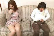 Japanese Mom Watches Porn Video With Son